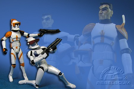 Clone Commander Cody & Clone Trooper Echo