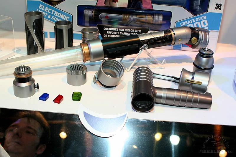 Star Wars Build Your Own Lightsaber Kit For Sale