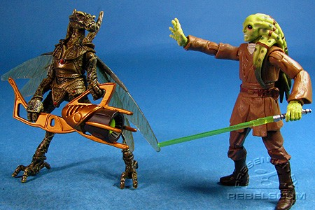 Kit Fisto & Geonosian Warrior