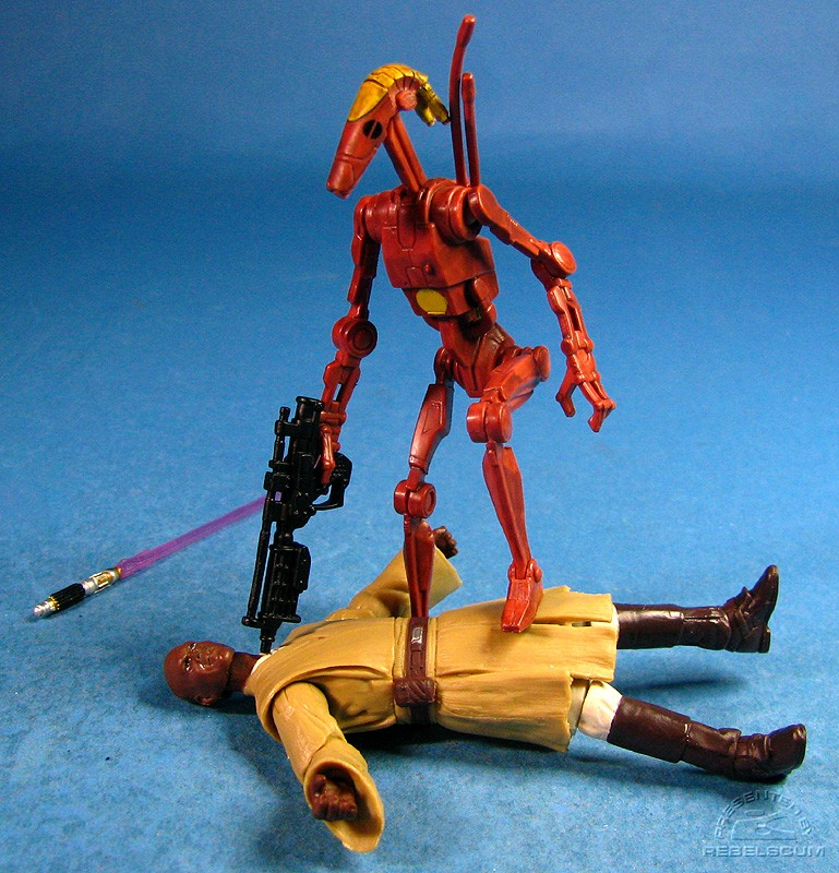 Battle Droid Comamnder wins!