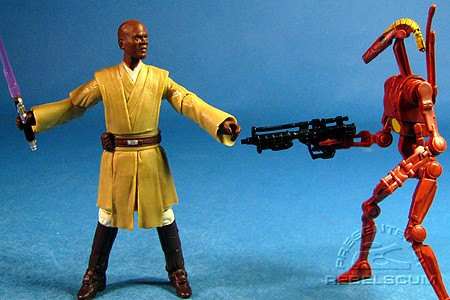 Mace Windu & Battle Droid Commander