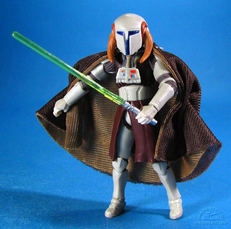 Cape borrowed from Count Dooku