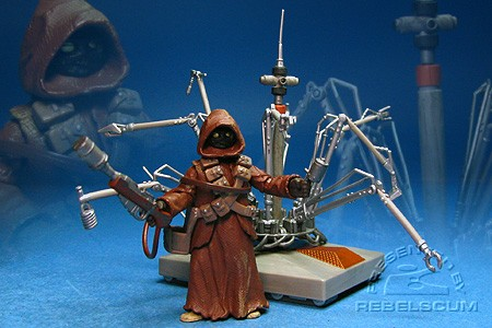 Jawa and WED Treadwell Droid