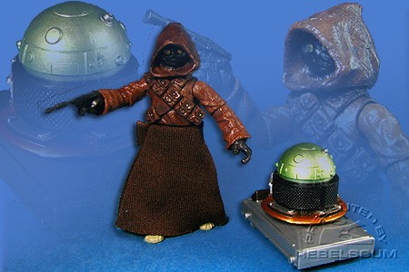 Jawa & Security Droid