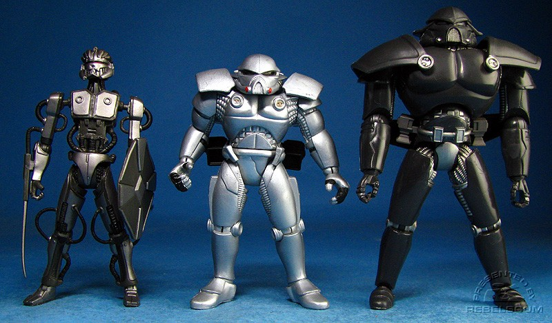 LC Dark Trooper Phase I | POTF2 Dark Trooper | LC Dark Trooper Phase III