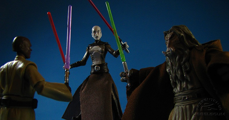 Dueling Asajj Ventress on Ruul