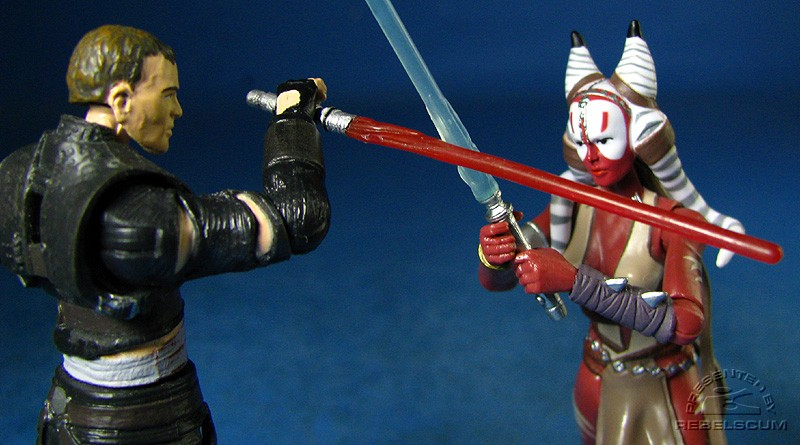 Starkiller Vs. Shaak Ti!