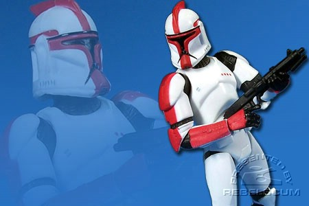 Clone Trooper Officer (Captain)