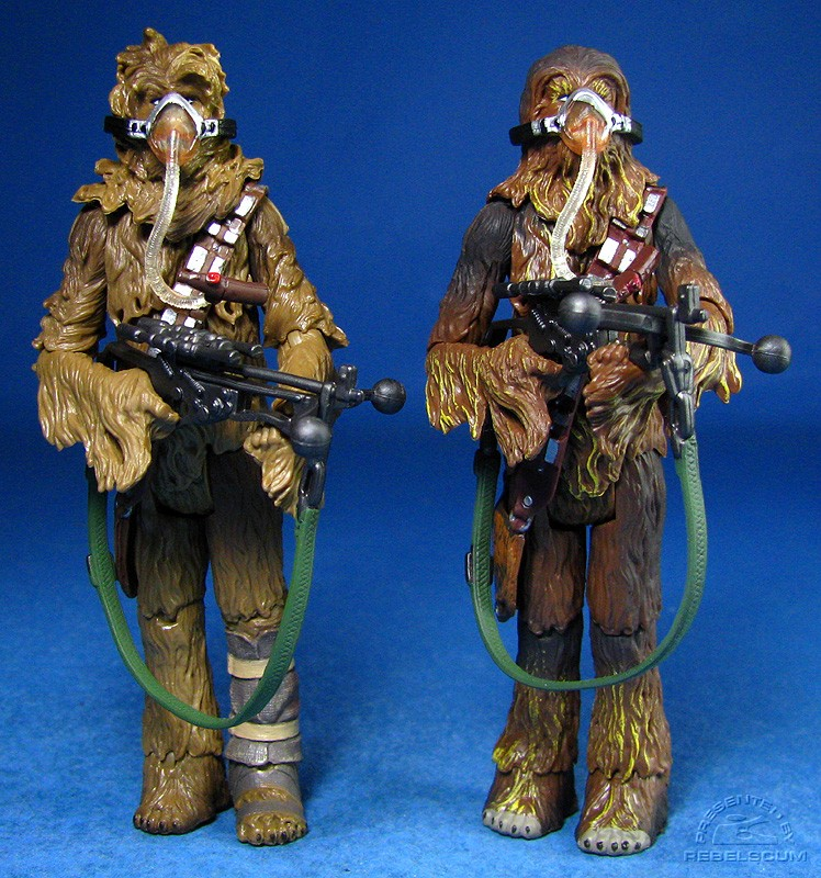 SL15 Chewbacca: both versions