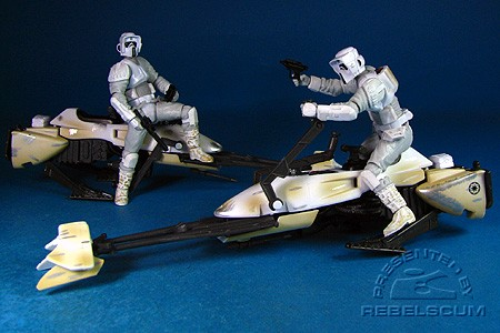 Hoth Speeder Bike Patrol