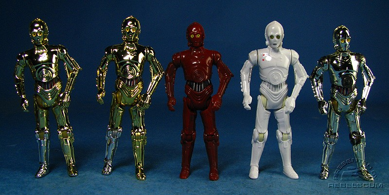 TSC C-3PO (version 1) | TSC C-3PO (version 2) | R-3PO | K-3PO | C-3PO