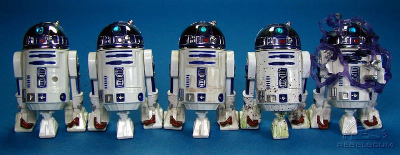 VOTC R2-D2 | Early Bird R2-D2 | Hoth R2-D2 | Endor R2-D2 | Shield Generator Assault R2-D2