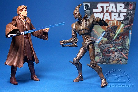 Anakin Skywalker & Assassin Droid