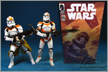 Clone Trooper Lieutenant & Clone Trooper