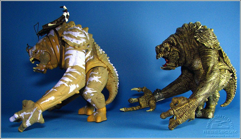 TAC Battle Rancor (The Force Unleashed) | TLC Jabba's Rancor (Return of the Jedi)