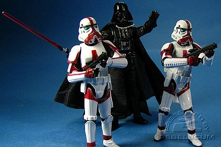 Darth Vader & Incinerator Troopers