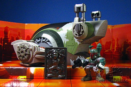 Slave I and Boba Fett