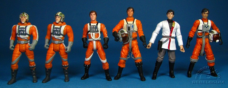 POTF2 Wedge (incorrect) | POTF2 Wedge (correct) | POTF2 Rebel Pilots | OTC Wedge | TLC Comic Packs | LC X-WIng Pilot