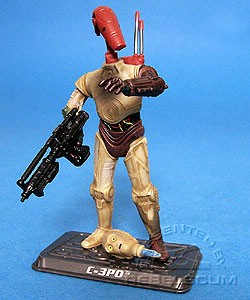 TSC-017: C-3PO (with Battle Droid head) - The Saga Collection