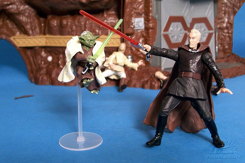 Yoda Vs. Count Dooku