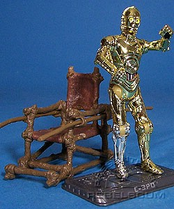 TSC-042: C-3PO (With Ewok Throne) - The Saga Collection
