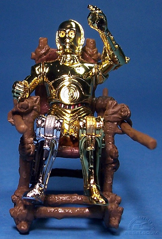 C-3PO with fixed knees