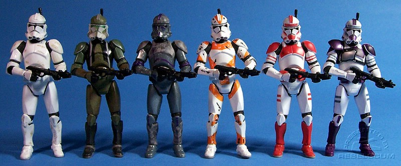 Clone III-41 | Commander Gree | Covert Ops | Utapau | Shocktrooper | Mace Windu's Trooper
