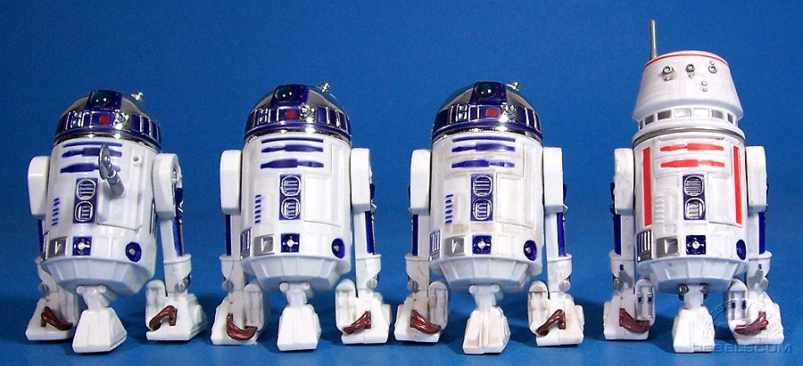 VOTC R2-D2 | Early Bird Kit R2-D2 | TSC R2-D2 SAGA-011 | TSC R5-D4 SAGA-032