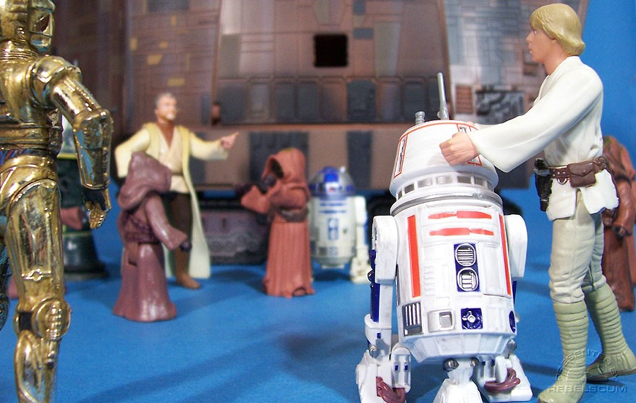 Uh-Oh...looks like this droid has a bad motivator!