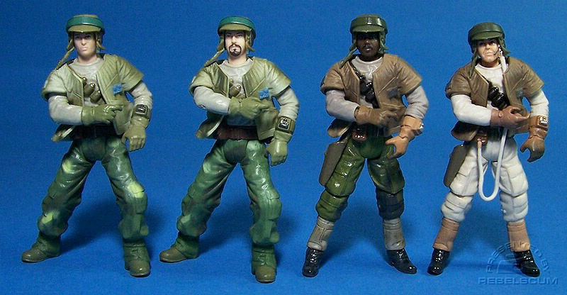 SAGA Endor Rebel Soldiers | TSC Rebel Trooper | TSC Rebel Gunner