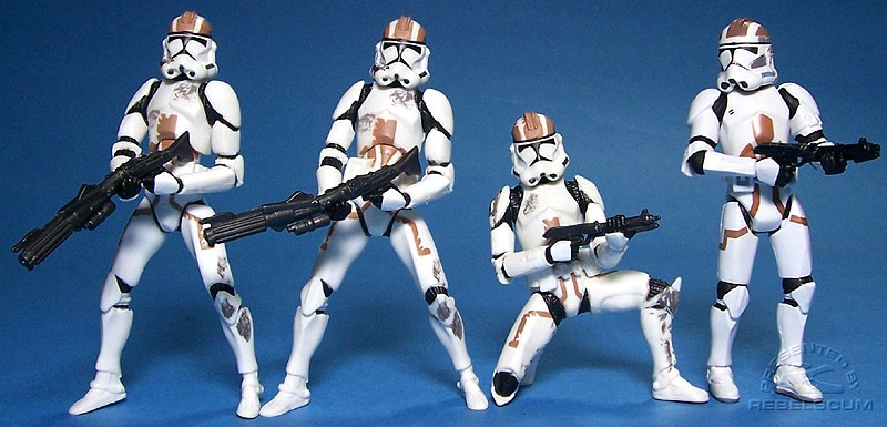 Clone Troopers from the Episode III DVD Set | Combat Engineer Clone Trooper