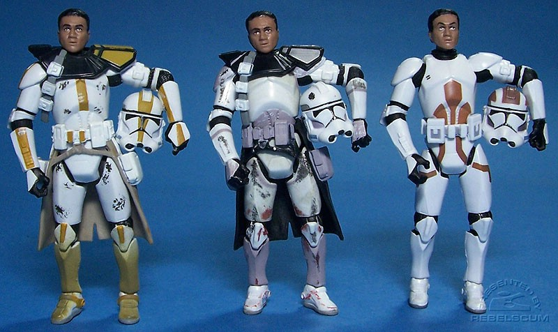 327th Star Corps Trooper | Coruscant Commander | Combat Engineer Clone Trooper