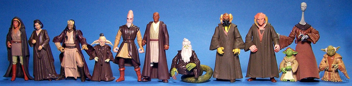 The Jedi High Council (from Episode I)