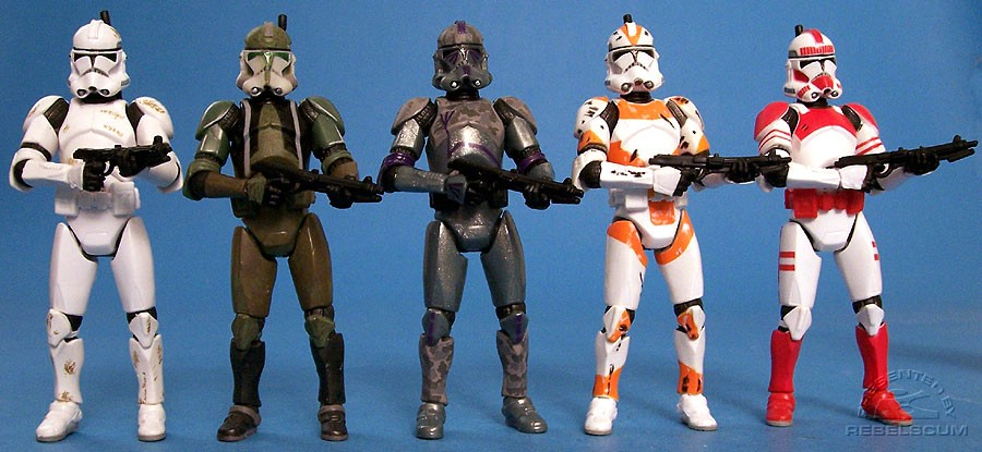 Clone Trooper III-41 | Commander Gree | Covert Ops Clone Trooper | Utapau Clone Trooper | Shock Trooper
