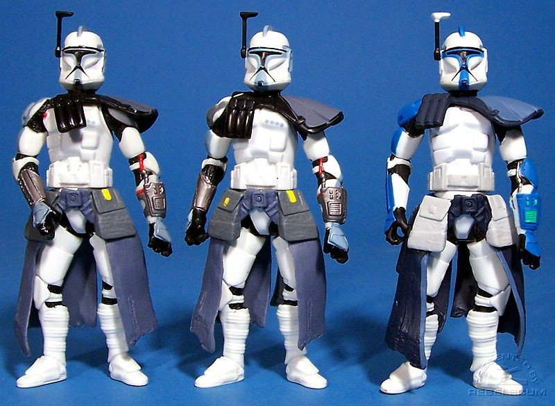ARC Trooper (blue) | ARC Trooper (grey) | ARC Trooper (battle pack)