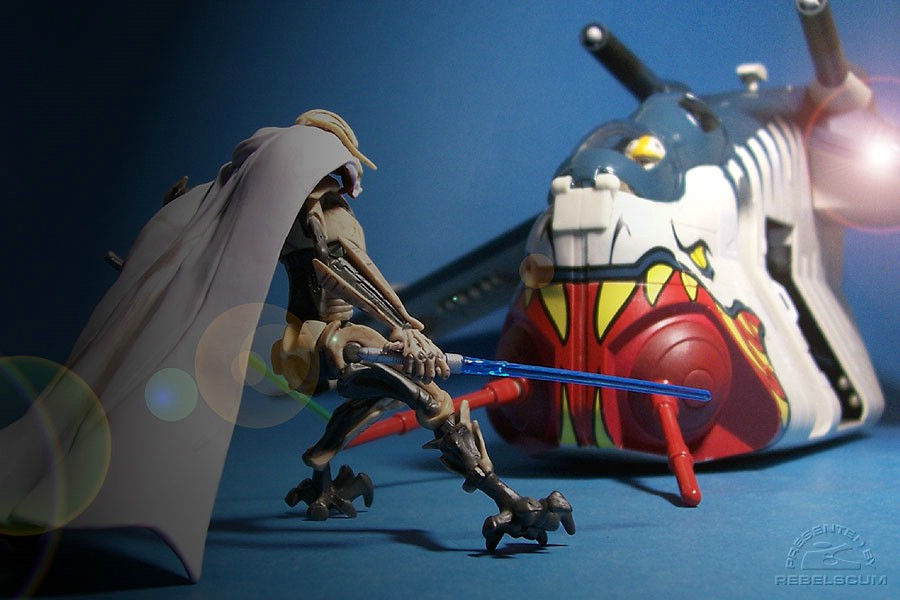 Showdown with General Grievous