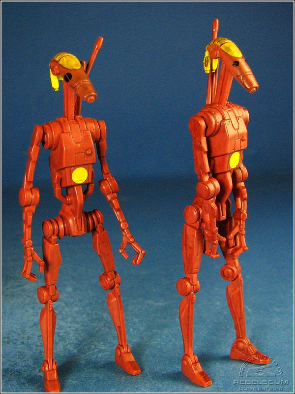 Battle Droid Commanders: Big Eyes | Small Eyes