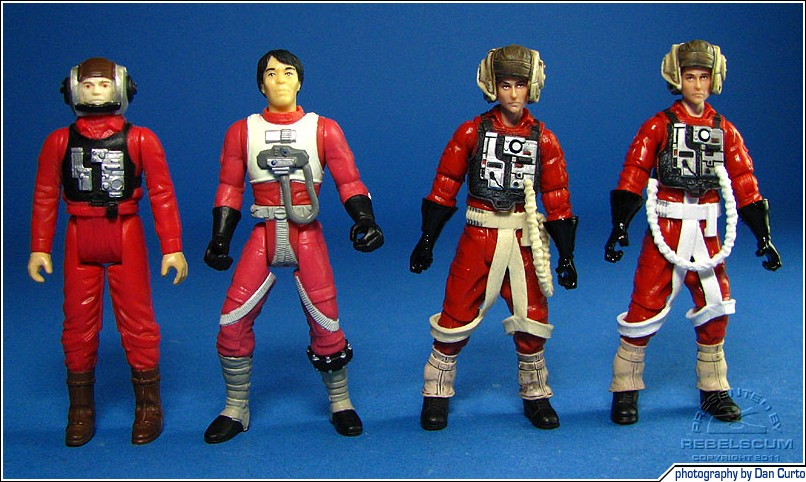Red-suited B-Wing Pilots