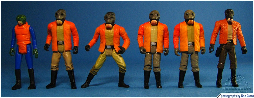 Kenner Walrus Man | POTF2 Ponda Baba | POTF2 Cinema Scene | SAGA Cantina Set | OTC Cantina Set | The Vintage Collection