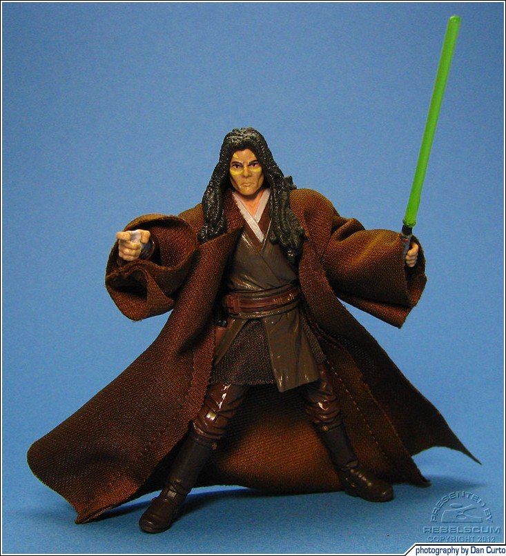 Jedi robe not included (borrowed from Qui-Gon Jinn)
