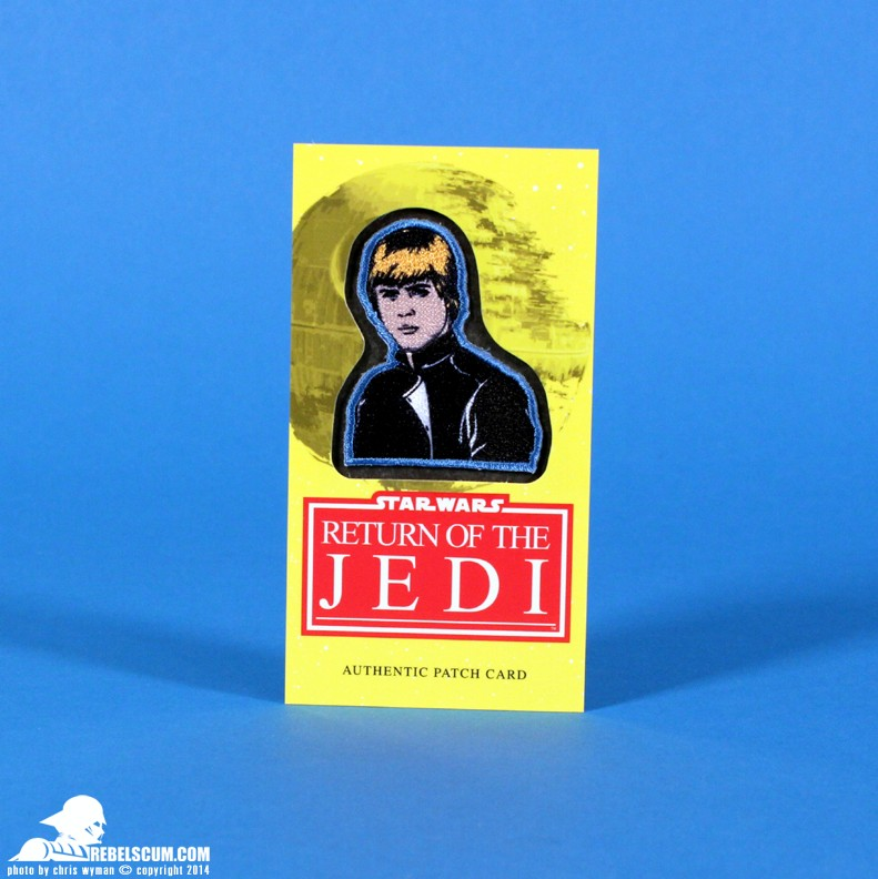 <i>Return of the Jedi</i> Luke Skywalker Patch Card
