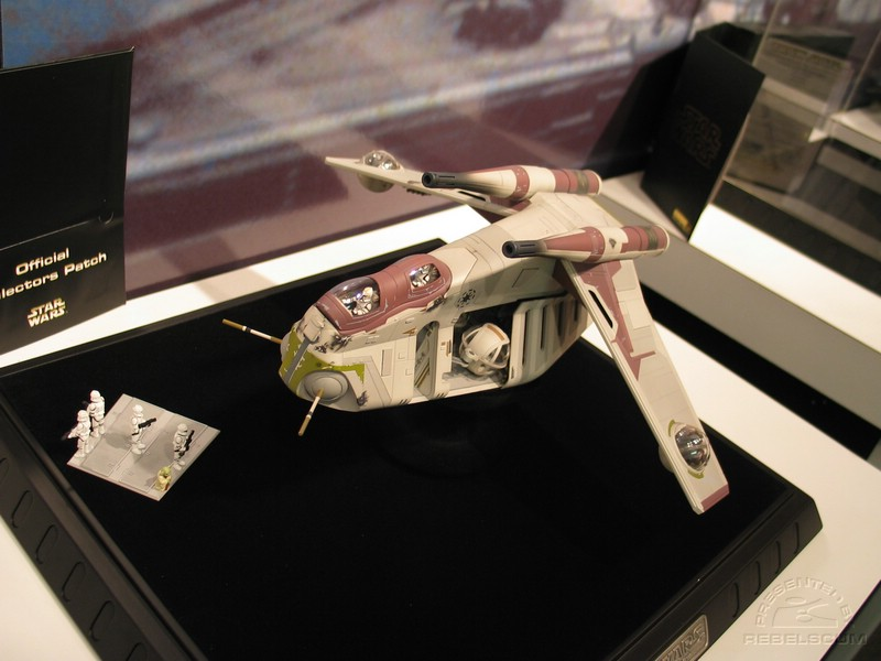 Code Collectibles' Republic Gunship