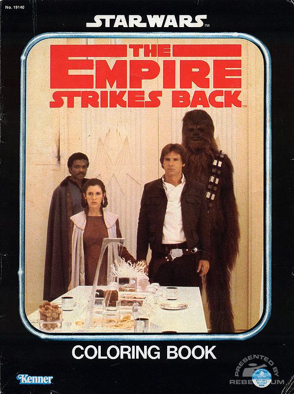 Star Wars: The Empire Strikes Back Coloring Book [Lando, Leia, Han, Chewbacca]