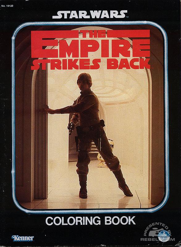 Star Wars: The Empire Strikes Back Coloring Book [Luke]