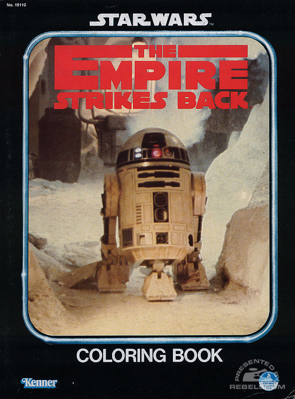 Star Wars: The Empire Strikes Back Coloring Book [R2-D2]