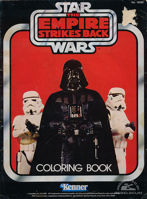 Star Wars: The Empire Strikes Back Coloring Book [Darth Vader and Stormtroopers]