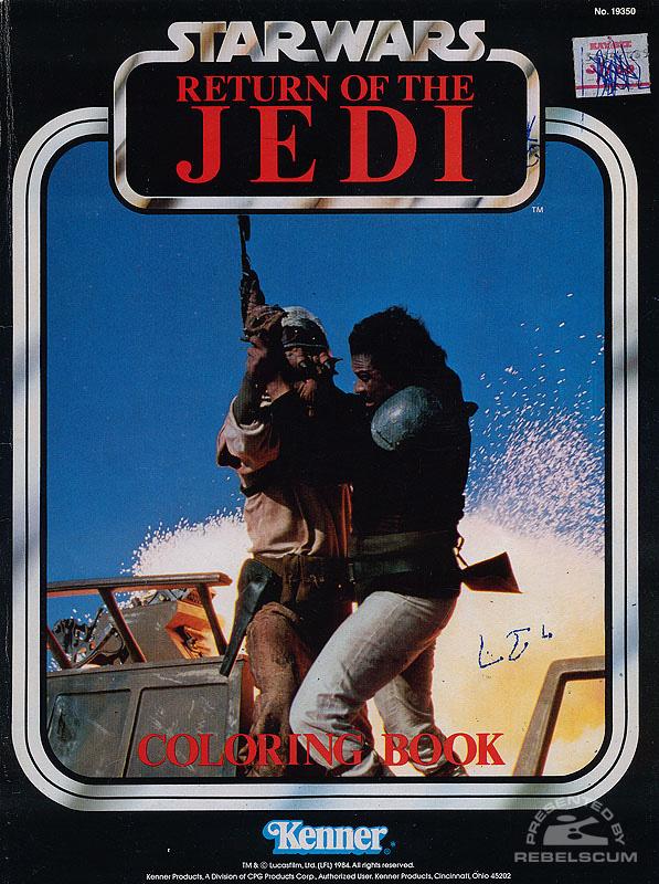 Star Wars: Return of the Jedi Coloring Book [Lando]