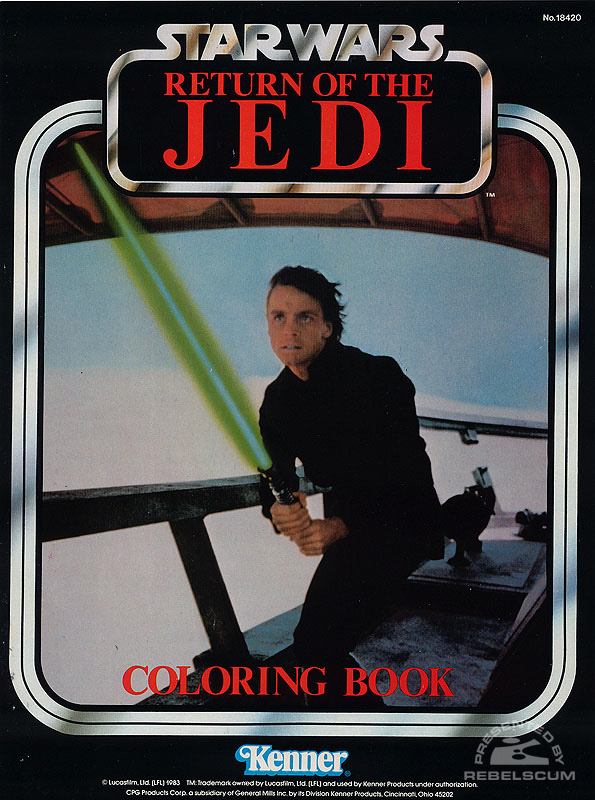 Star Wars: Return of the Jedi Coloring Book [Luke Jedi]
