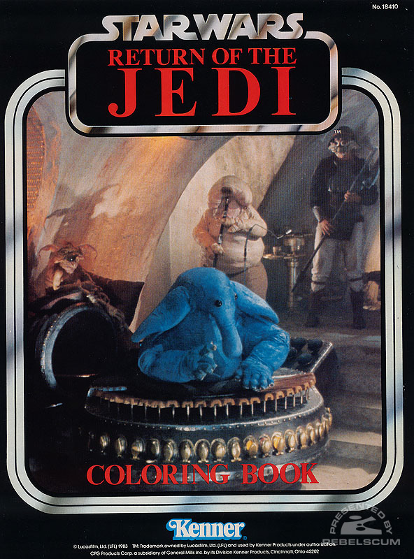 Star Wars: Return of the Jedi Coloring Book [The Max Rebo Band]