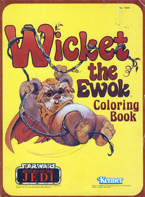 Star Wars: Return of the Jedi – Wicket the Ewok Coloring Book